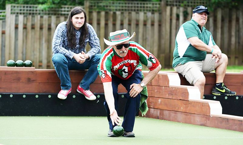 SPOTLIGHT PHOTO: JAKE MCNEAL - Paul Zanabelli and Italia Uno will compete for the fourth Donna Gedlich Memorial Bocce Tournament championship on July 22 at Scappoose Veterans Park.