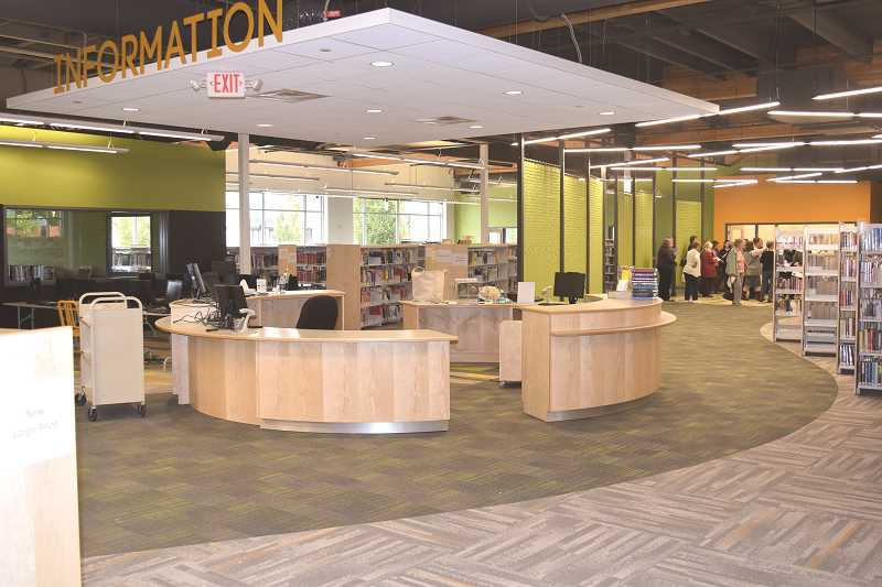 STOCK IMAGE - Canby Public Library