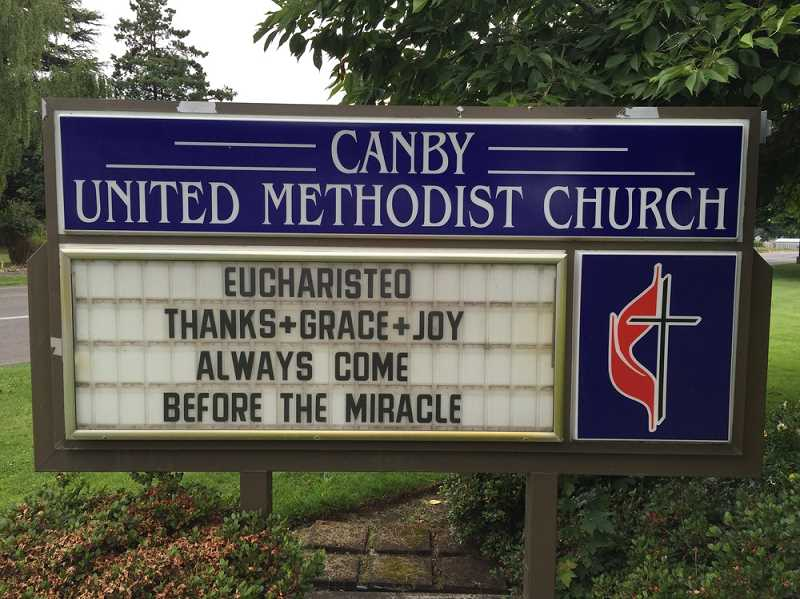 STOCK IMAGE - Canby United Methodist Church is located at 1520 N. Holly Street.