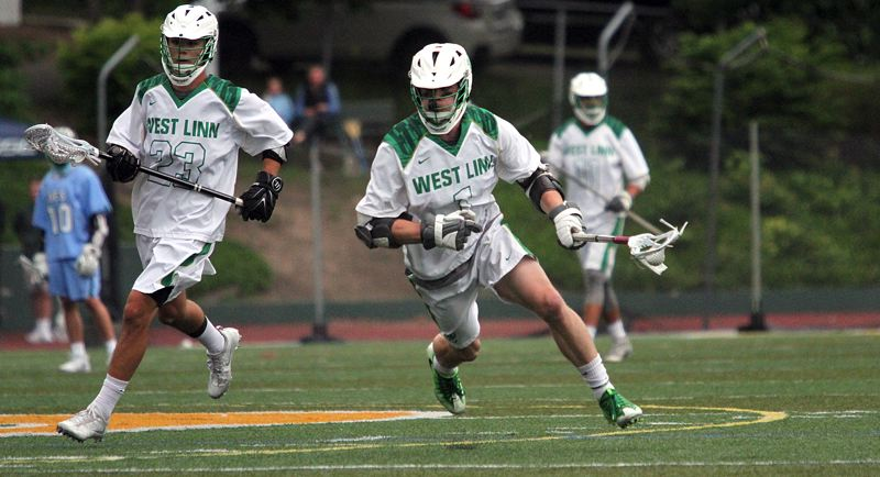TIDINGS FILE PHOTO - West Linn senior Eli Gaunt was one of two Lions - along with senior Dawson Loehner - to earn both first-team all-league and first-team all-state honors this season.