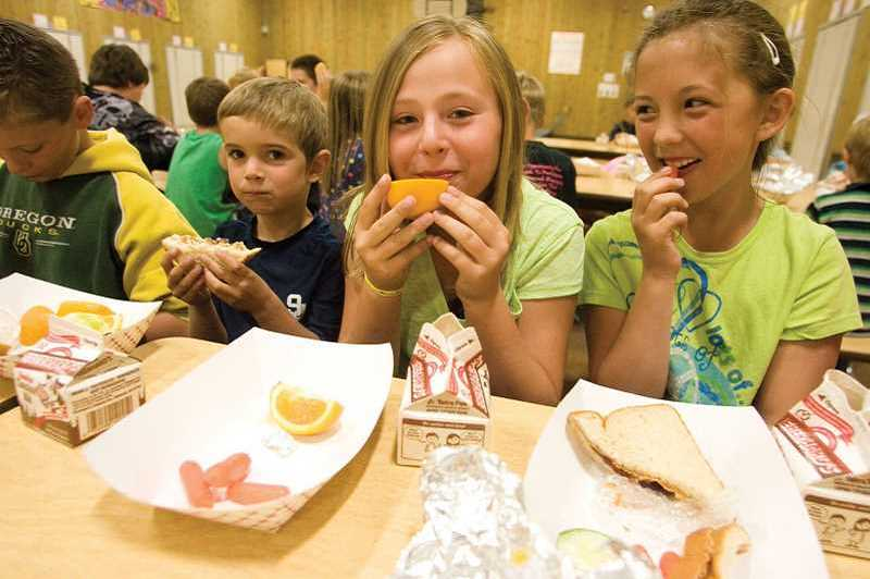 STOCK IMAGE - Canby School District's free summer lunch program is offered again this year.