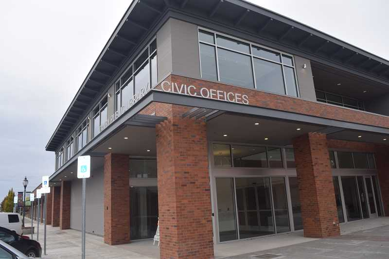 STOCK IMAGE - Canby City Hall