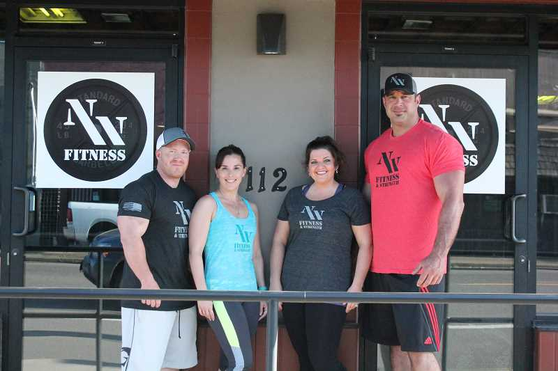 PIONEER PHOTO: CONNER WILLIAMS  - From left: Eric