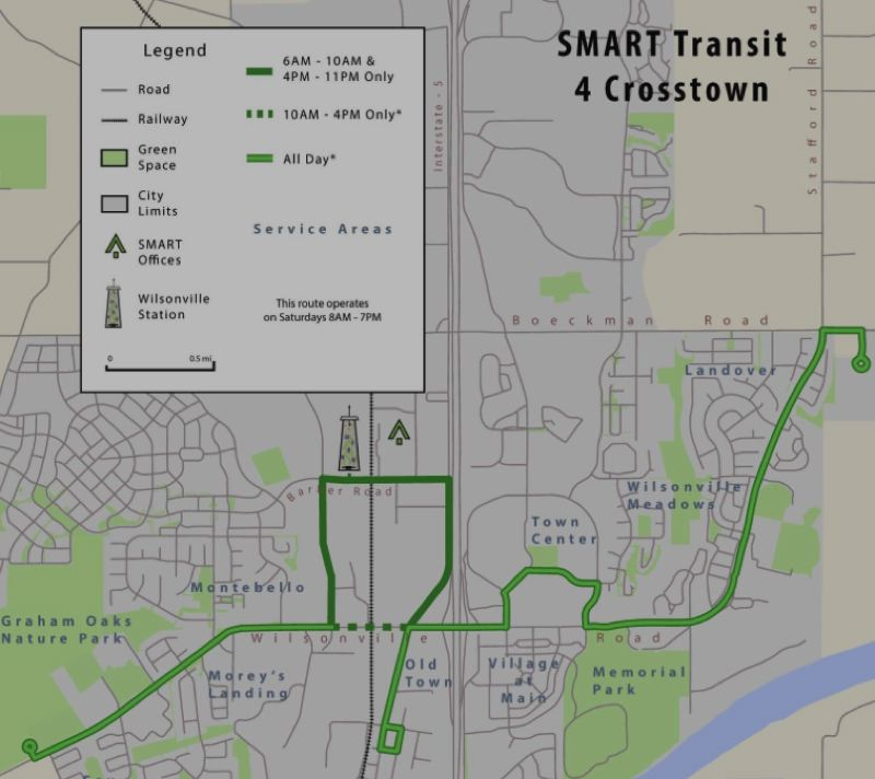 SUBMITTED PHOTO - Of the route changes proposed in the Transit Master Plan update, the one impacting riders within the city limits will be the altered cross-town 4X (pictured).