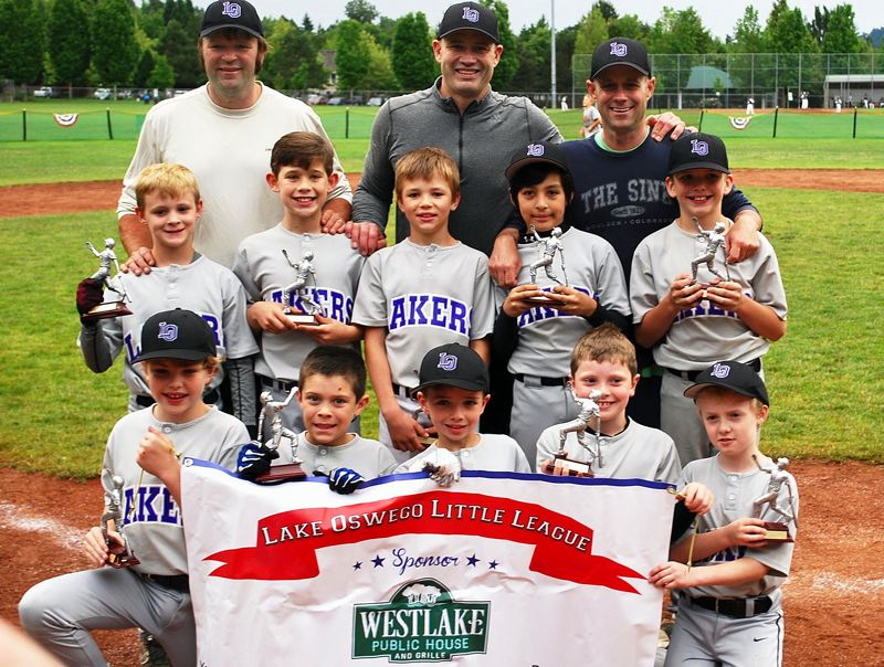 SUBMITTED PHOTO - The Westlake Public House team included (back row, left to right) Mike McClaskey, Ed Joyce and Scott Adler, (middle row) William Herion, Sebastian Joyce, Rylan McClaskey, Hudson Smith and Trent Bay, and (bottom row) Jaden Moore, Merik Adler, Conor Lyons, Ben Robertson and Broden Loprinzi.