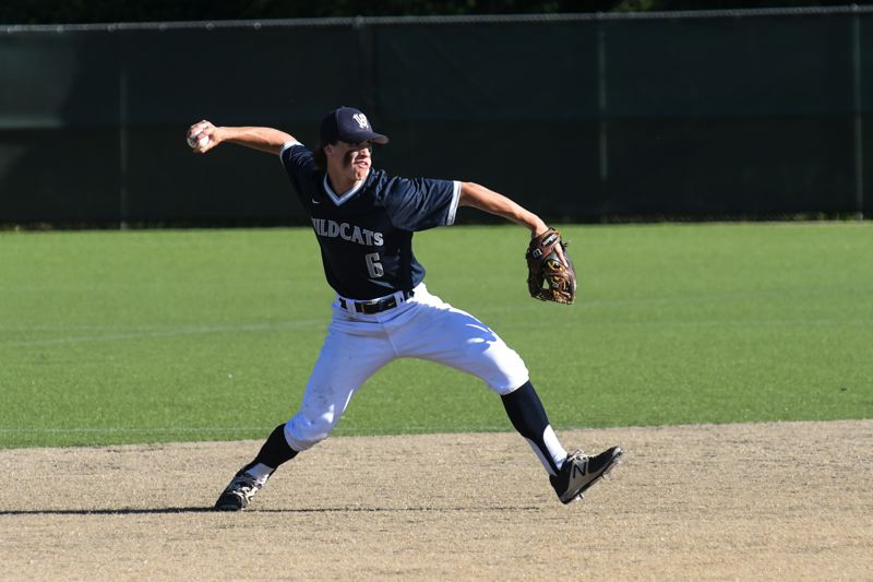 SUBMITTED PHOTO: GREG ARTMAN - Wilsonville shortstop Trevor Antonson made the All-State First Team as a sophomore.
