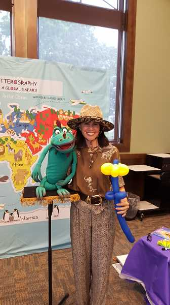 FILE PHOTO - Vikki Gasko Green will entertain at several area libraries for the Summer Reading Program.