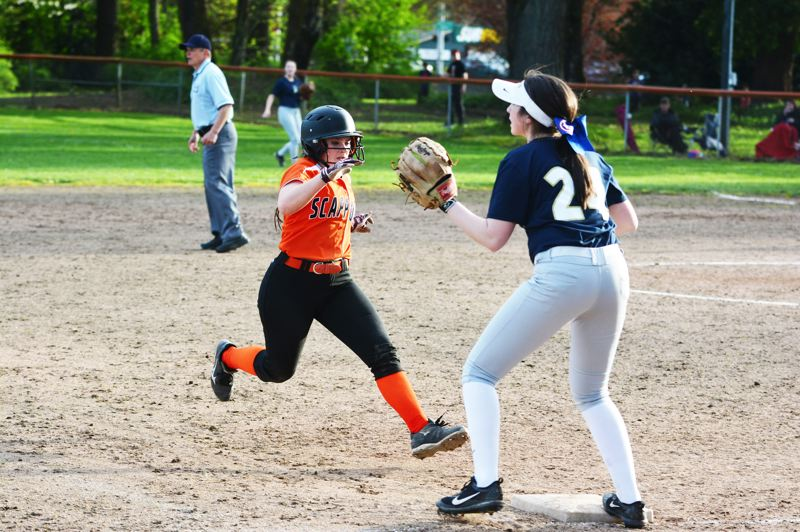 SPOTLIGHT PHOTO: JAKE MCNEAL - Senior Nicole Lukinbeal is a first-team Class 4A all-state talent at second base.