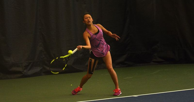 TIMES FILE PHOTO - Sunset sophomore Serim Jin is one of the Oregon Sports Awards finalists for Female Prep Tennis Player of the Year.
