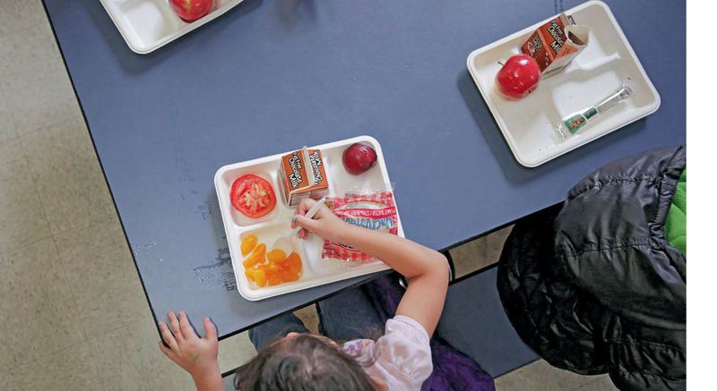PAMPLIN MEDIA GROUP FILE PHOTO - A new bill adopted by the Oregon House takes on the issue of 'lunch shaming' in some schools across the state.