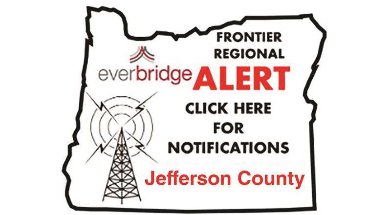 SUBMITTED ILLUSTRATION - People can sign up for traffic and emergency alerts through the Frontier Regional Alert program.