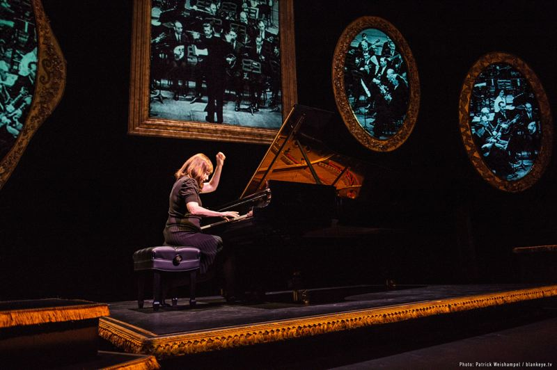 COURTESY: PATRICK WEISHAMPEL/BLANKEYE.TV - Mona Golabek returns to perform her popular 'The Pianist of Willesden Lane' in a Portland Center Stage show, June 17-30 at The Armory.