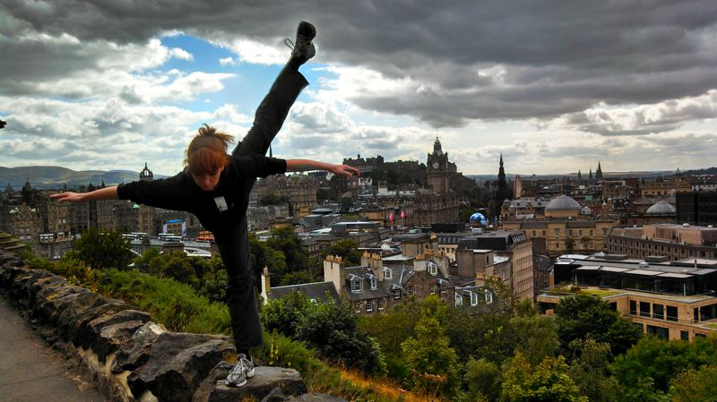 COURTESY: JOSH MURRY - Eowyn Emerald and her dance company are moving to Scotland, where they have drawn praise at the Edinburgh Festival Fringe.