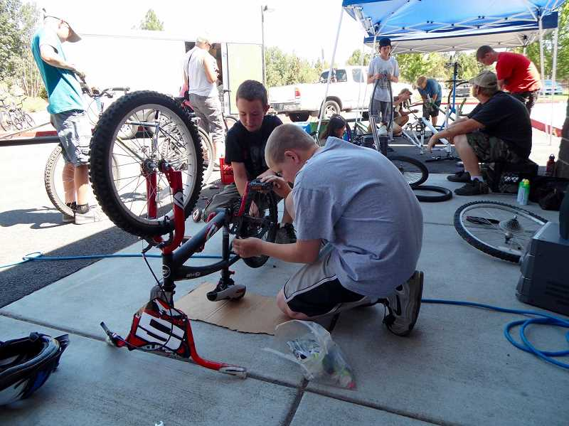 PHOTO SUBMITTED BY JILL BONANNO - Empowering Youth Bicycle Program will once again teach teens about bike safety and bike repair.
