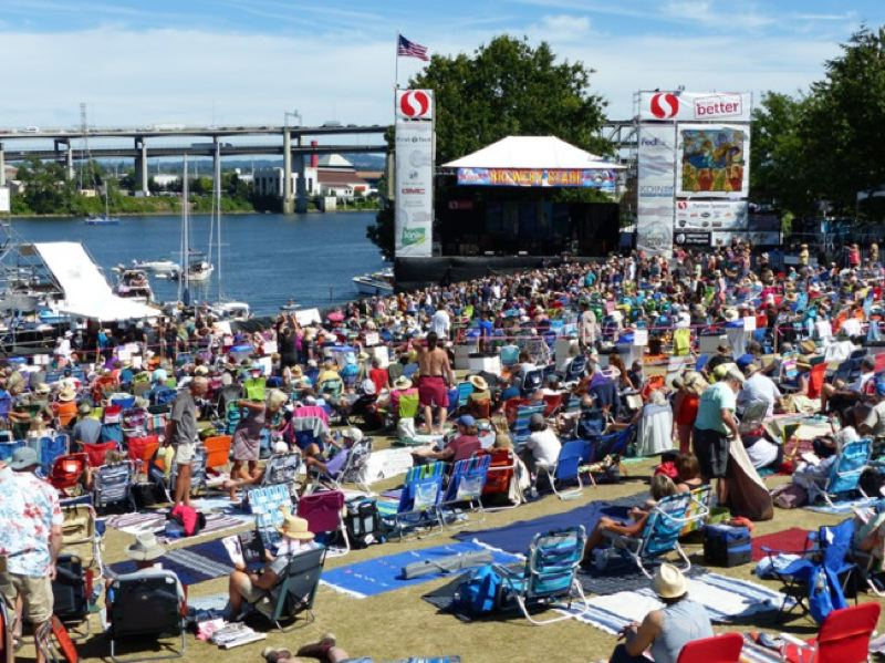 KOIN 6 NEWS - Thousands of people attended every day of last year's Blues Festival.