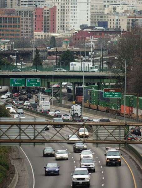 PORTLAND TRIBUNE FILE PHOTO - Portland's growing congestion problems impact the entire state.