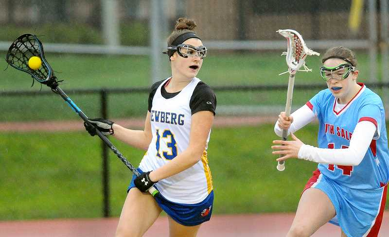 GRAPHIC FILE PHOTO - Newberg High School graduate Ann Nelson will continue her lacrosse career next spring at NCAA Division II Fort Lewis College in Durango, Colo.