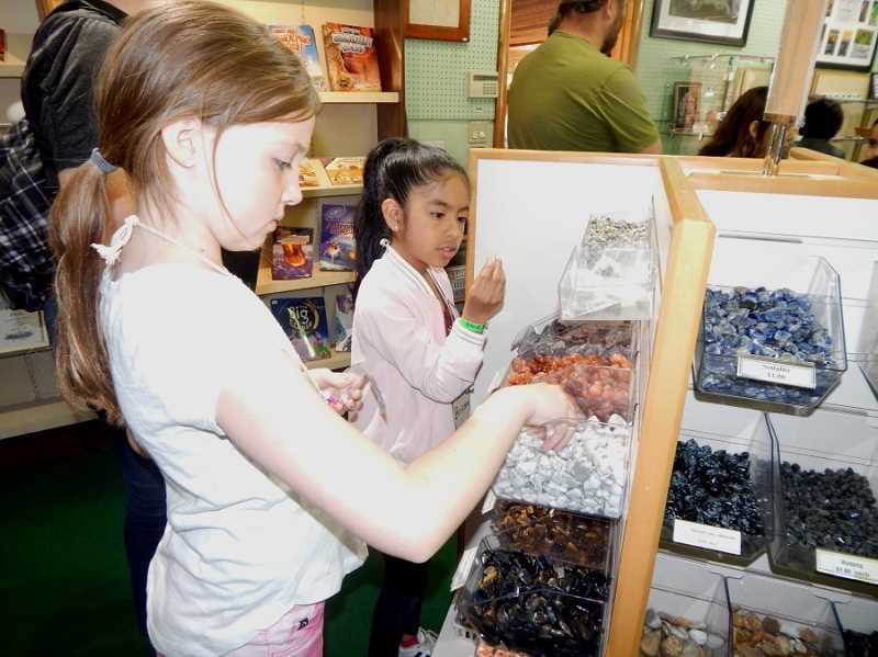 BARBARA SHERMAN - The Deer Creek students got to spend time in the Rice Museum gift shop, where countless small items were available for $1 or $2, and everyone left with a priceless souvenir as a reminder of their trip.
