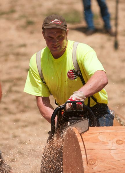 FILE PHOTO - A variety of competitive events will take place at the Estacada Timber Festival, scheduled this year for Tuesday, July 4.