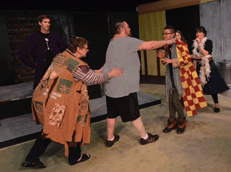 CONTRIBUTED PHOTO - There are three more opportunities to see 'Godspell,' a play on parables, at Sandy Actors Theatre.