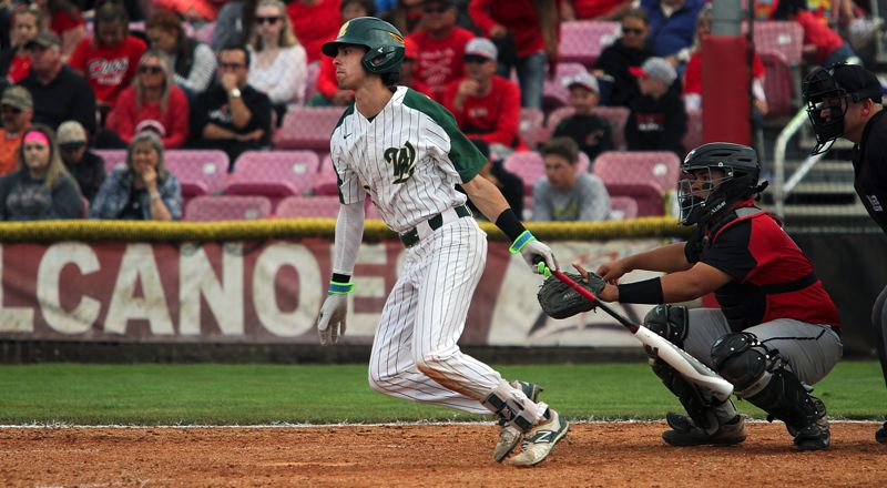 TIDINGS FILE PHOTO - West Linn graduated senior center fielder Chase Cosner will represent the Lions in this weekend's Oregon All-Star series at Goss Stadium in Corvallis.