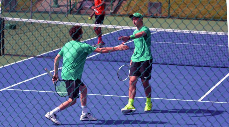 TIMES FILE PHOTO - Jesuit senior Michael Quinn and Edward Murphy won the Class 6A doubles state championship this season.