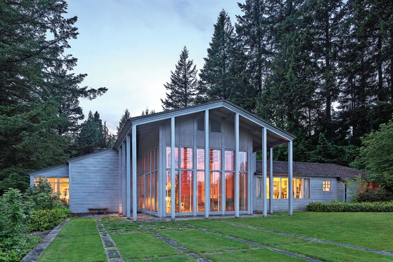 COURTESY: PORTLAND ART MUSEUM  - John Yeon's masterpieces, the Watzek House, defined Northwest Modernism.