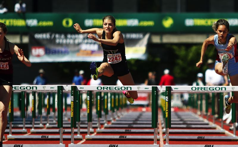 DAN BROOD - Sareena Patzke placed in both the 100 high hurdles and the triple jump at the state track and field championships.