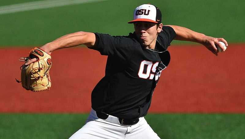 COURTESY PHOTO - Oregon State's Luke Heimlich was the Pac-12 Pitcher of the Year and likely high round draft pick, now he's left to wonder what's left for him in the game of baseball.