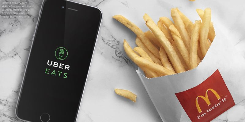 COURTESY: MCDONALD'S - UberEATS starts delivery of McDonald's food today, Monday 26 June.