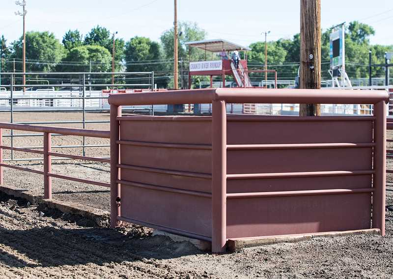 The Roundup Board has made several changes to the grounds since last year's Roundup. The changes include new chutes on the south end of the field, which are expected to make the Roundup more exciting and fast paced. In addition, there is a new gate at the north end for barrel racers, which should lead to racers hitting the arena at higher speeds and subsequent fast times.