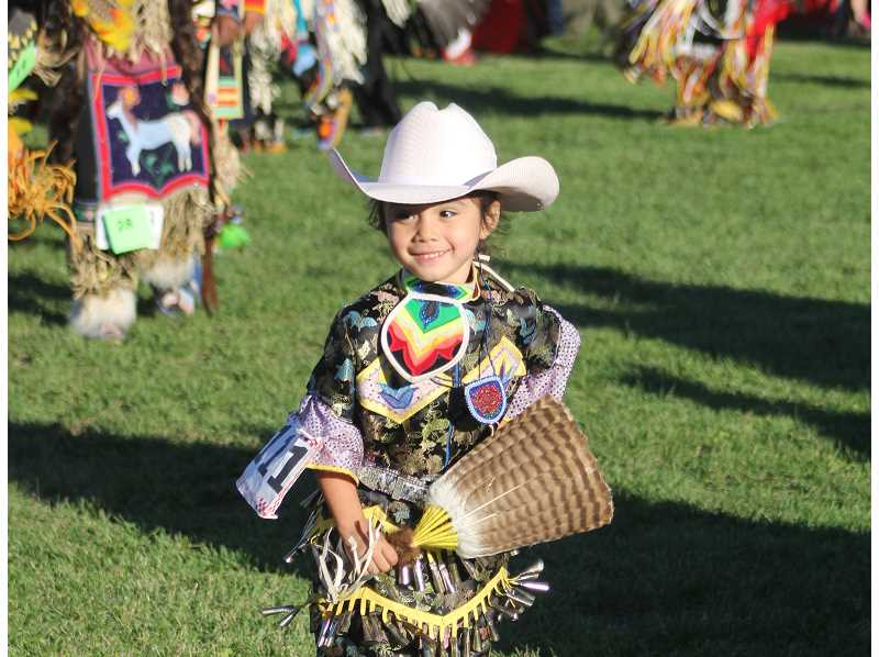 FILE PHOTO - A young girl participates in dancing events at last year's Pi-Ume-Sha.