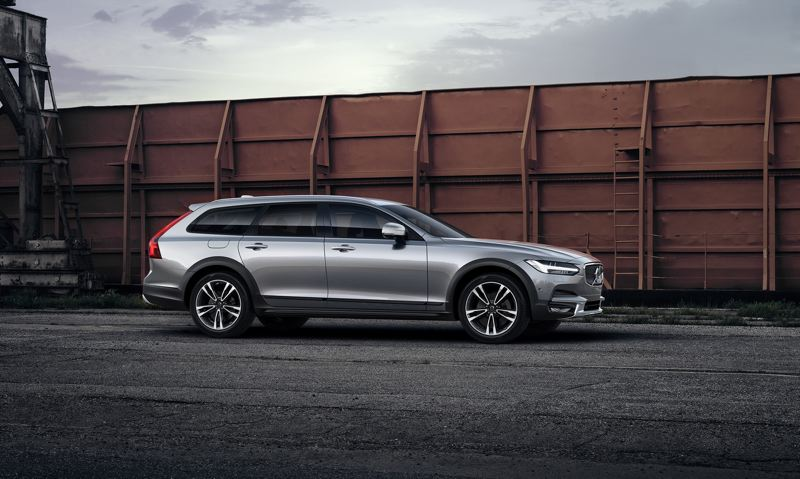 VOLVO CAR CORPORATION - The sharply styled 2017 Volvo V90 Cross Country T6 AWD has come a long way from the boxy Volvo wagons of the past, but is still practical and comfortable, in addition to be being fun.