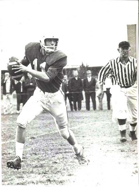 COURTESY OF JOHN THOMAS - Zyp guided the Woodburn football team to the A-2 quarterfinals in his 1963 senior season, one of only three times the Bulldogs have advanced that far in the state bracket.