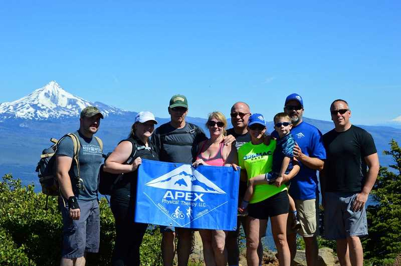 SUBMITTED PHOTO - For a second year, Apex Physical Therapy will once again host Burning Glutes for Lakes and Buttes this summer.