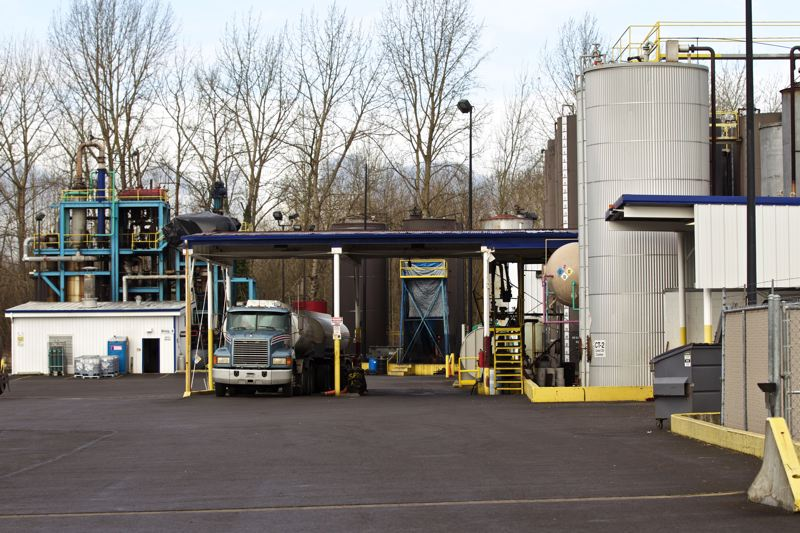 TRIBUNE FILE PHOTO  - DEQ will require American Petroleum Environmental Services to install pollution control equipment here at its North Portland plant, but its proposed permit might allow many air emissions known to cause cancer.