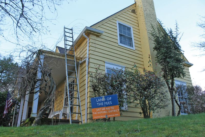 PORTLAND TRIBUNE FILE PHOTO - The fight over making Eastmoreland a historic district has split the neighborhood and led to name calling.