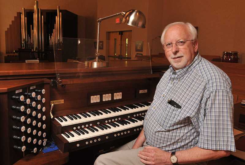 SPOKESMAN PHOTO: VERN UYETAKE - Windy the organ at St. Francis of Assisi Episcopal church in Wilsonville is in need of significant upgrades, and the church is asking for donations.