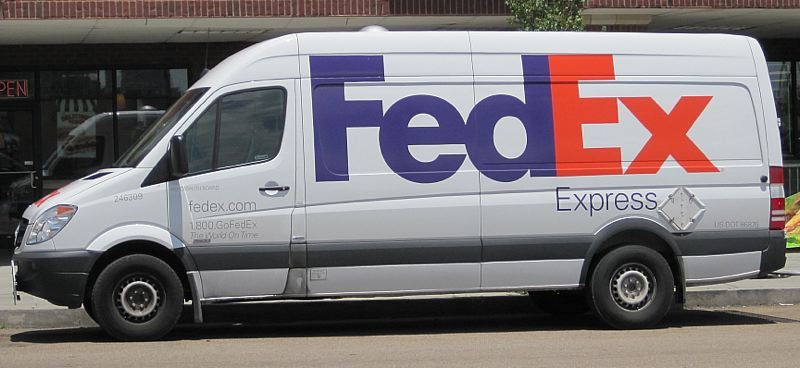 PHOTO COURTESY: WIKIMEDIA COMMONS/THOMAS R. MACHNITZKI - This FedEx Mercedes Sprinter van is similar to the one that Jason Fletcher was driving when he inflicted fatal injuries on Norma Gabriel in a Milwaukie Transit Center crosswalk.