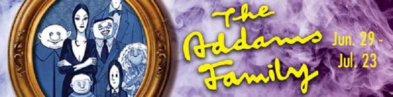 COURTESY OF BROADWA ROSE THEATRE COMPANY - In Broadway Rose's production of 'The Addams Family,' family values are challenged when daughter Wednesday falls in love and brings home a nice, young, 'normal' man to meet the folks.