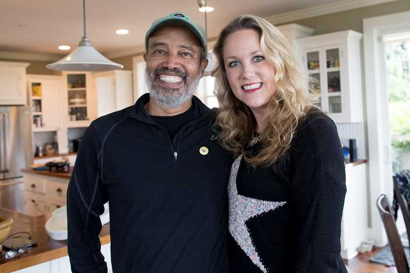PAMPLIN MEDIA GROUP: JAIME VALDEZ - Eight weeks after receiving a new kidney, Theo Yigsaw, left, is doing great, thanks to Lisa Marshall who donated at kidney to the 51-year-old rural Sherwood resident. The operation was performed at Legacy Good Samaritan hospital where the pair are shown here recooperating.