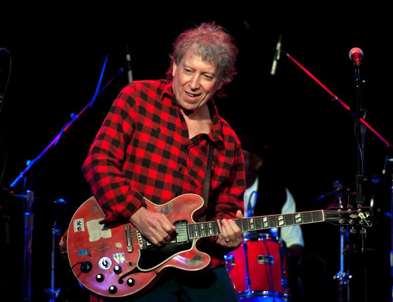 COURTESY: BOB HAKIN - Elvin Bishop is one of the featured performers at the Waterfront Blues Festival.