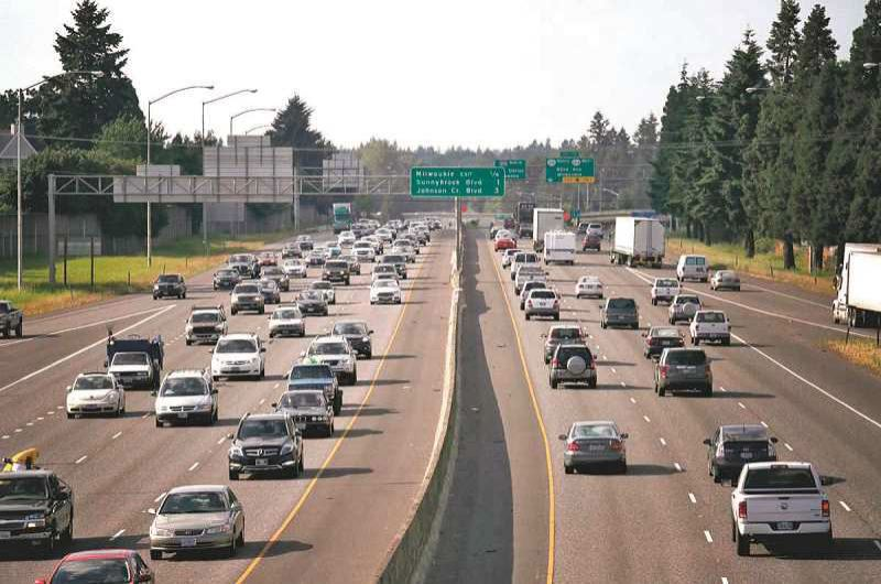 FILE PHOTO - Transportation leaders agree that Portland area congestion is hurting the economy,