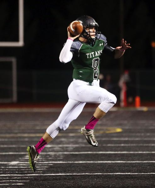 COURTESY: STATESMAN JOURNAL - Cade Smith was a prolific passer and runner at quarterback for the West Salem High Titans. Now he's hoping to produce yards, touchdowns and wins for Portland State.