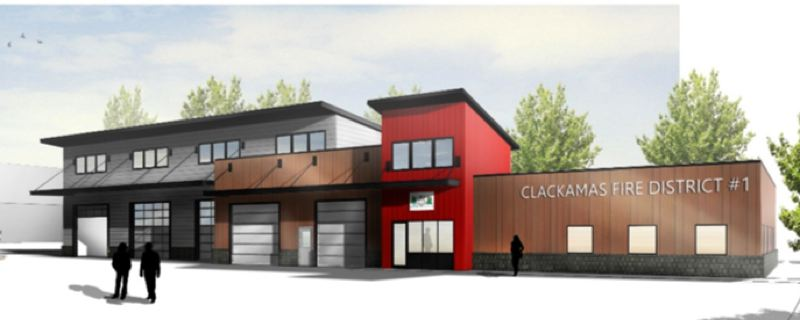 RENDERING COURTESY: RICE FERGUS MILLER INC. - Thanks to the passage of the $29 million general obligation bond by voters in 2015, Clackamas Fire soon will construct and equip a new 20,000-square-foot fleet and logistics center.