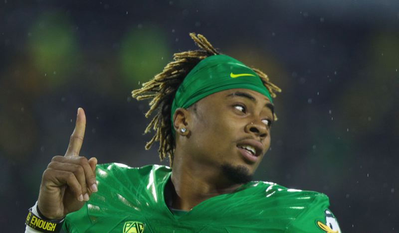 Oregon's leading receiver, Darren Carrington, suspended after DUII charge