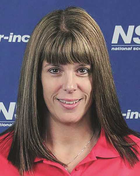 COURTESY OF NATIONAL SCOUTING REVIEW - North Marion head volleyball coach Jackie Arnold