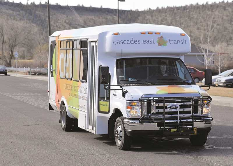 CENTRAL OREGONIAN FILE PHOTO - House Bill 2745B received support from all Central Oregon communities as well as Central Oregon Intergovernment Council, which operates the Cascade East Transit regional public bus system.