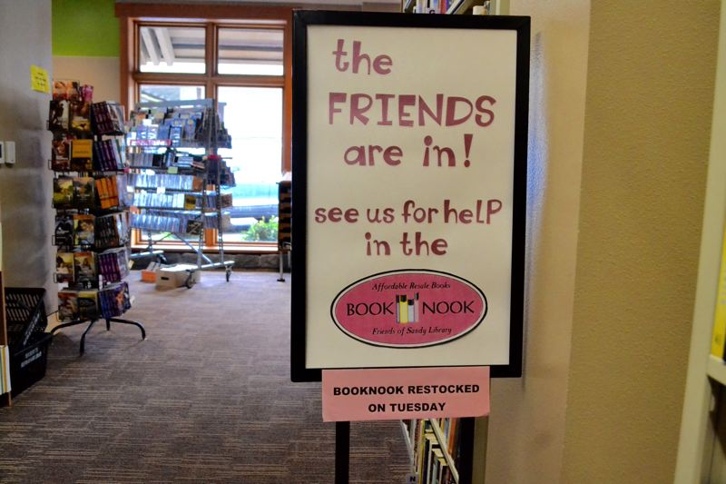 POST PHOTO: BRITTANY ALLEN - Friends of the Library sells books to support library programs.