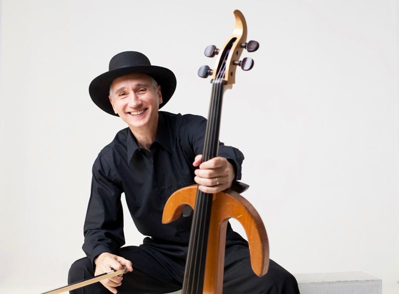 CONTRIBUTED PHOTO - Gideon Freudmann is a well-known cellist, and front man of 'Blue Orchid,' which will play at Wine in the Woods.